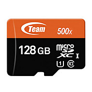 Equipo 128GB Clase 10 MicroSD/MicroSDHC/MicroSDXC/TFMax Read Speed60 (MB/S)Max Write Speed20 (MB/S)