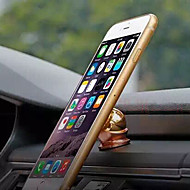 Phone Holder Stand Mount Car Dashboard Magnetic / 360° Rotation Metal for Mobile Phone
