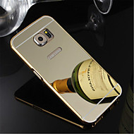 Mert Samsung Galaxy S7 Edge tokok Galvanizálás Hátlap Case Egyszínű PC mert Samsung S7 edge S7 S6 edge plus S6 edge S6 S5 S4