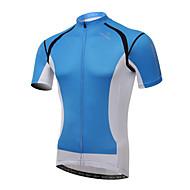 XINTOWN® Bisiklet Forması Erkek Kısa Kol BisikletNefes Alabilir / Hızlı Kuruma / Ultravioleye Karşı Dayanıklı / Sıkıştırma / Hafif