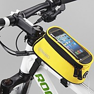 ROSWHEEL® 自転車用バッグ 1.2L自転車用フロントバッグ 防水 / 速乾 / 防雨 自転車用バッグ ナイロン / オックスフォード / テリレン サイクリングバッグ 他の同様のサイズの携帯電話 サイクリング 18.5*8.5*8.5
