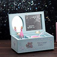 dresser for elise musikk boksen plast blå / rosa / gul