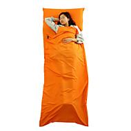 가방 라이너 자 직사각형 침낭 싱글 20-25° C 면 400g 210X75 캠핑 / 낚시 / 여행 / 야외 / 실내 먼지 방지 Pink Moon