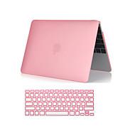 """caja de cuerpo 2 en 1 claro como el cristal suave al tacto completo con la cubierta del teclado para MacBook Pro de 13 """"/ 15"""" (colores"""