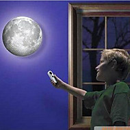 Indoor LED Wall Moon Lamp With Remote Control Relaxing Healing Moon Light