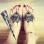 12 Tijdelijke verf Non Toxic Groot formaat TribalBaby Kind Dames Girl Heren Volwassene Boy Tiener Flash Tattoo tijdelijke Tattoos