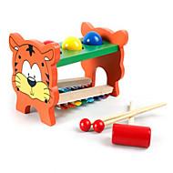 giocattoli in legno multifunzionali per prescolare a bussare la palla la riproduzione di musica su celesta