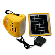 HRY® Cool White Color Multi-use LED Solar Lantern Light Lamp USB Power Bank for Camping Hikingg