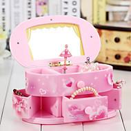 Dresser For Elise Music Box Plastic Pink / Yellow
