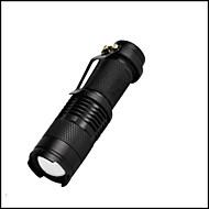 Valaistus LED taskulamput LED 350 Lumenia 3 Tila LED 14500 AAASäädettävä fokus Vedenkestävä Iskunkestävä Leikata Hätä Pienikokoiset