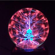 esfera crânio bola de plasma de vidro mágica de 4 polegadas bola mágica eletrônica artesanato criativo ornamentos presente de aniversário