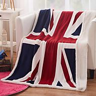 織物 マルチカラー 動物 カシミア 毛布 130*160cm