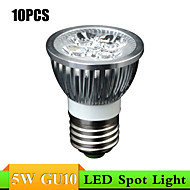 MORSEN Lâmpadas de Foco de LED Decorativa GU10 / E26/E27 5W 400 lm 3000K/6000K K Branco Quente / Branco Frio 5 LED de Alta Potência 10 pçs