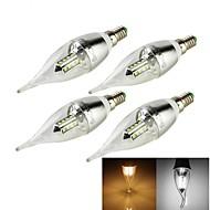 3W E14 Luzes de LED em Vela C35 16 SMD 2835 250 lm Branco Quente / Branco Frio Decorativa AC 100-240 / AC 110-130 / AC 85-265 / AC 220-240