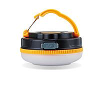 Luci Lanterne e lampade da tenda LED 180 Lumens 1 Modo LED USB Impermeabili / Ricaricabile Campeggio/Escursionismo/Speleologia ABS