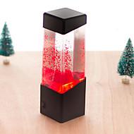 luces de la noche de la lámpara de la lámpara del acuario medusas electrónica, flash LED curar acuario volcán jalea de las medusas (color