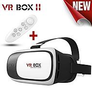 ny virtuell verklighet vr Box II 3d glasögon google kartong vr glasögon 3D-video film spel för smartphones 4,7-6 tum
