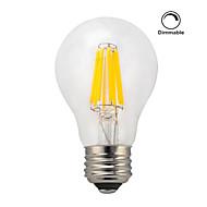 1 pièce kwb E26/E27 7W / 8W 8 COB 750 lm Blanc Chaud A60(A19) edison Vintage Ampoules à Filament LED AC 100-240 V