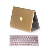 """2 en 1 mate cubierta de la caja del metal del color de cuerpo completo con la cubierta del teclado para MacBook Air 11 """"pro 13"""" / 15 """""""