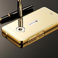 Mert Nokia tok Galvanizálás / Tükör Case Hátlap Case Egyszínű Kemény Akril Nokia Nokia Lumia 535