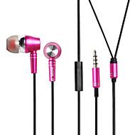 3.5mm auriculares con cable (en el oído) para el reproductor multimedia / comprimido | teléfono móvil | equipo