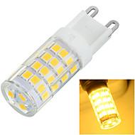 6W G9 Luminárias de LED  Duplo-Pin Encaixe Embutido 51 SMD 2835 400-500 lm Branco Quente / Branco Frio Decorativa AC 220-240 V 1 pç