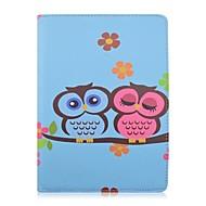 speciale ontwerp nieuwigheid pu lederen 360⁰ case folio case roterende holster voor iPad lucht 3