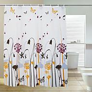 karahindiba kalın polyester duş perdesi 180x200