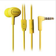 beeckow818 고음질 헤드셋 스테레오 소음 차단베이스 제 3 주파수는 아이폰 기가 듀얼 드라이브 마이크를 모니터
