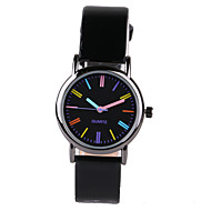 Foreign Hot Color Scale Black Belt Women's Watch Cool Watches Unique Watches