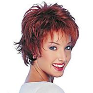 2015 nowy kręcone krótkie syntetyczne Alice odwróciła peruka włosy peruki bordowy dla kobiet