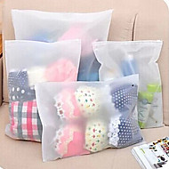 Underwear Clothing Clothes Bag Baggage Sorting Translucent Bags 3 Pack