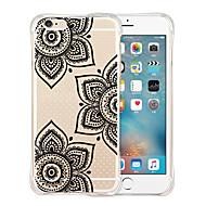 For Etui iPhone 6 / Etui iPhone 6 Plus Støtsikker / Gjennomsiktig / Mønster Etui Bakdeksel Etui Tegneserie Myk SilikoniPhone 6s Plus/6