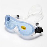 WAVE svømmebriller Dame / Herre / Unisex Anti-Tåge / Vandtæt / Justerbar Størrelse / Anti-UV Silika Gele PC Gennemsigtige Sort / Blå