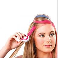nieuwe 4 kleuren / set hete europese mode tijdelijk haar krijt poeder tijdelijke pastel haarverf tijdelijke wash-out