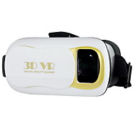 "VR BOX VR 3.0 Virtual Reality 3D Glasses for 4.5~6.0"" Phone - White"