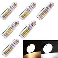 YouOKLight® 6PCS E14 5W 99*SMD5730  350LM Warm White Cold White  CRI>80 LED Corn Bulbs Lamp (110-120V/220V-240V)