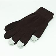 Ensfarget Ull Touch hansker for iPhone