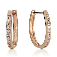 Σκουλαρίκι Κρίκοι Κοσμήματα 1 ζευγάρι Πετράδια σχετικά με τον μήνα γέννησης Γάμου / Πάρτι / Καθημερινά / Causal Ασήμι Στερλίνας Γυναικεία