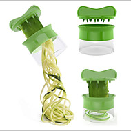 Vegetabilsk spiralizer gulerod agurk skiver spaghetti salat maker frugt skiver ost køkken