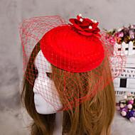 kwiat z piór biżuterii welon Fascinator kapelusz włosy na wesele