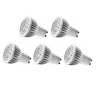 5W GU10 / GU5.3(MR16) / E26/E27 LED Spot Lampen MR16 5 High Power LED 350-400 lm Warmes Weiß / Kühles Weiß Dimmbar AC 220-240 / AC 110-130