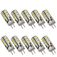 3W G4 LED Bi-pin Lights T 24 SMD 2835 280 lm Warm White / Cool White Decorative DC 12 10 pcs