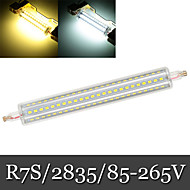 20W R7S Bombillas LED de Mazorca Luces Empotradas 144LED SMD 2835 1200-1300 lm Blanco Cálido / Blanco Fresco Regulable AC 85-265 V 1 pieza