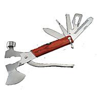 Apribottiglie / Coltelli / Multitools / Assi / Martelletti Campeggio / All'aperto Multifunzione / Conveniente acciaio inossidabile altro