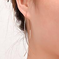 Damskie Kolczyki na sztyft minimalistyczny styl Europejski Modny biżuteria kostiumowa Miedź Biżuteria Biżuteria Na Impreza Codzienny