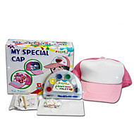 cappelli DIY illustrazione colorata o modello