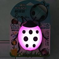 creative colore cangiante sensore scarabeo signora cartone animato relativa ad una luce notturna (colori assortiti)