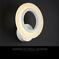 屋内モダンなアクリルウォールライト円形のベッドサイドランプの廊下のライトを導いたac85-265v