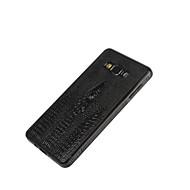Mert Samsung Galaxy tok Dombornyomott Case Hátlap Case Egyszínű Műbőr Samsung A8 / A7